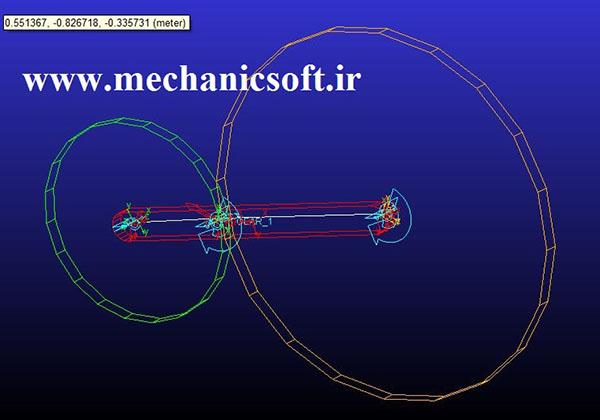تحلیل دینامیکی چرخدنده ها در نرم افزار آدامز (Adams)