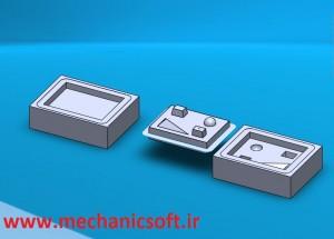 نحوه ی طراحی قالب در نرم افزار SolidWorks