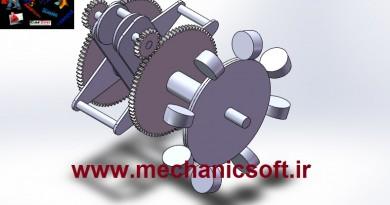 طراحی و تحلیل موتور قدرتمند MYT در نرم افزار SolidWorks