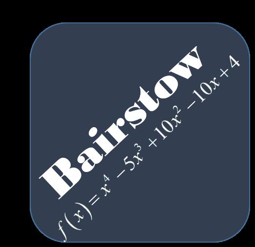 روش Bairstow در MATLAB