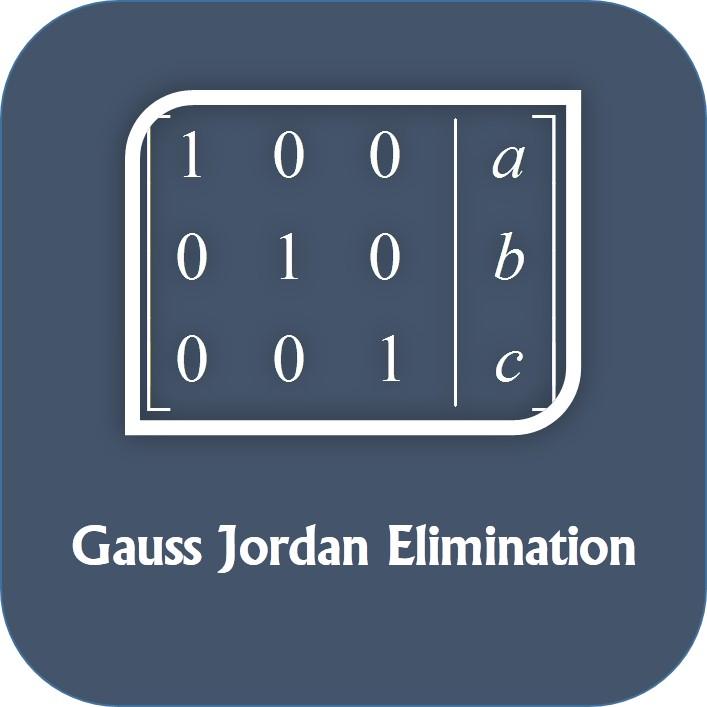 روش حذفی گاوس - جردن در MATLAB