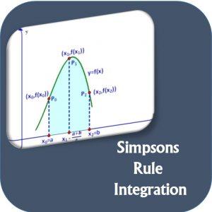 انتگرال گیری عددی به روش سیمپسون در نرم افزار MATLAB