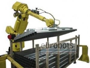 کاربرد روباتهای صنعتی در جابجایی قطعات