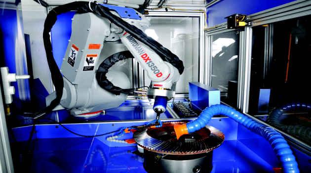 همه چیز درباره ی روباتها در صنعت