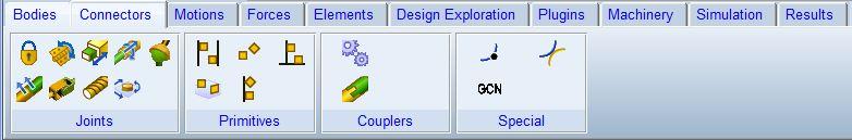 نرم افزار آدامز Conectors