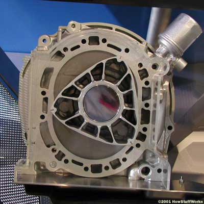 موتور دورانی ونکل (Wankel)